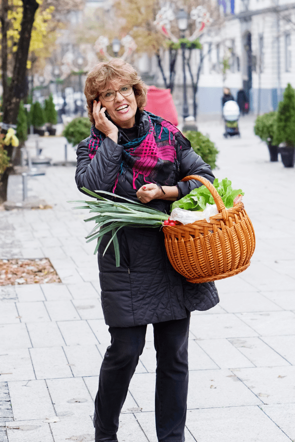 Carrying Groceries Talking on Phone Shoulder Pain